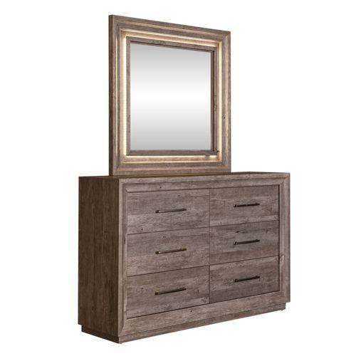 Gallery - Queen Storage Bed, Dresser & Mirror, Night Stand