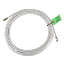 30 ft. White RG6 Low Loss Coax (F Male to F Male)