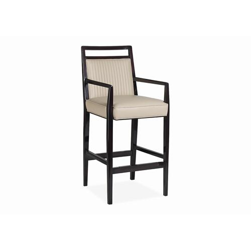 Avril Channel Quilted Bar Stool