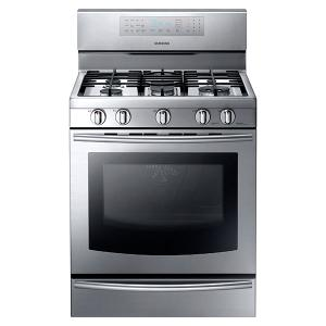 NX58F5700 Gas Range with True Convection Product Image
