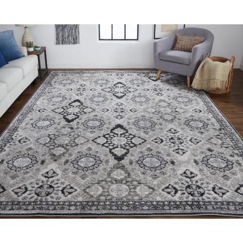 Feizy - MACKLAINE 39FVF IN SILVER - BLACK