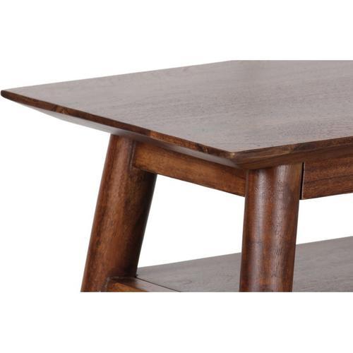 Portola Walnut Recliner Table, 2002-024WW