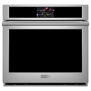 "Monogram 30"" Smart Electric Convection Single Wall Oven Statement Collection Product Image"