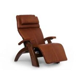 Perfect Chair ® PC-LiVE™ - Cognac Premium Leather - Walnut