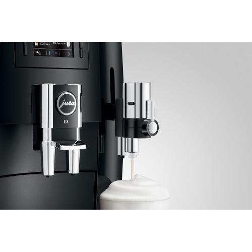 Automatic Coffee Machine, E8, Piano Black