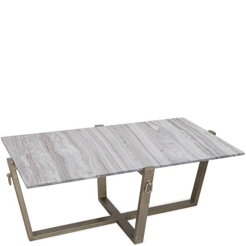 Rectangular Coffee Table Top - Carbon Steel Finish