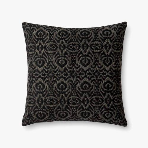 P0500 In/out Black / Grey Pillow