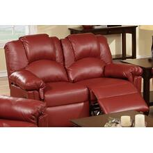 Izem Reclining/motion Loveseat Sofa or Recliner, Burgundy-bonded-leather