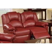 Izem Reclining/motion Loveseat Sofa or Recliner, Burgundy-bonded-leather