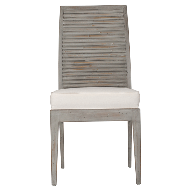 Stacked Bamboo Side Chair