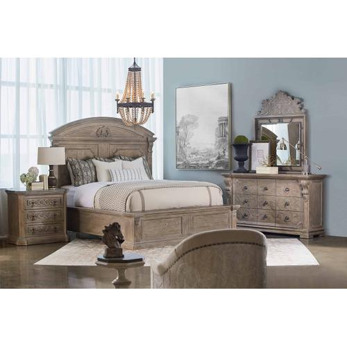 Arch Salvage Chambers Panel California King Bed