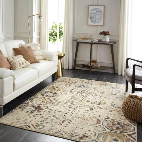 Elements Tunis Beige 8' Round