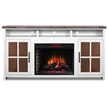 """See Details - Hampton 74"""" Fireplace Console"""