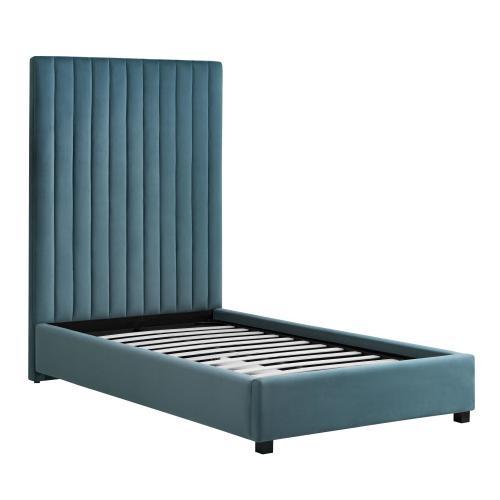 Tov Furniture - Arabelle Sea Blue Bed in Twin