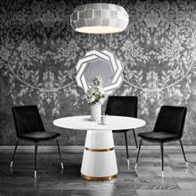 View Product - Evora Black Velvet Chair - Silver Legs (Set of 2)
