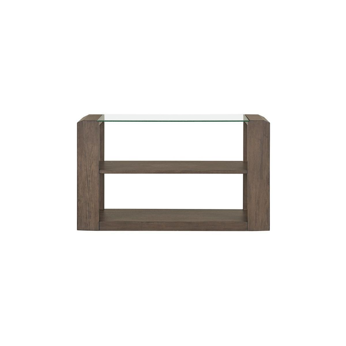 Sonata Brown Console Table