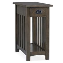 View Product - Mission Side Table in Dark Earth #8202-DE
