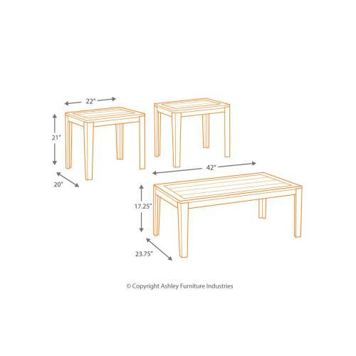 Birstrom 3-Pack Tables