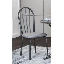 Steel Gray Dining Chair (Set of 2)