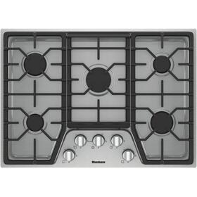 30in gas cooktop, 5 burner