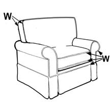 View Product - Swivel Glider, Slipcover.