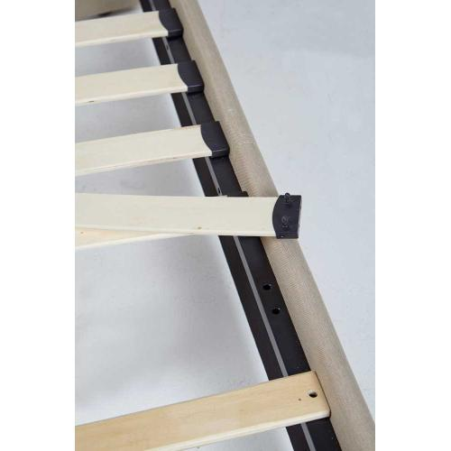 Kenora Platform Bed - Queen, Brown