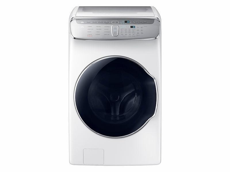 Samsung6.0 Cu Ft. Smart Washer With Flexwash In White