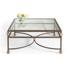 Collar Square Coffee Table