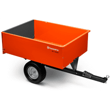 16 Cu. Ft. Steel Swivel Dump Cart
