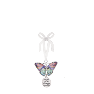 Blissful Journey Butterfly Ornament - Prayers go up, Blessings come down