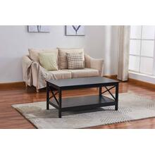 6601 X-Side Panel Coffee Table