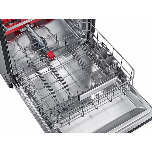 Samsung - Chef Collection Dishwasher with Hidden Touch Controls in Stainless Steel