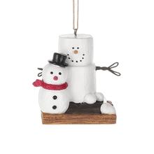 S'mores Snowman Ornament