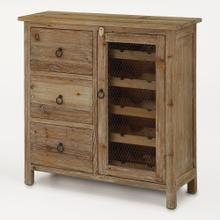 Wine Cabinet W/ 3 Drawers