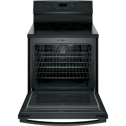 """Gallery - GE Profile Series 30"""" Free-Standing Electric Convection Range"""