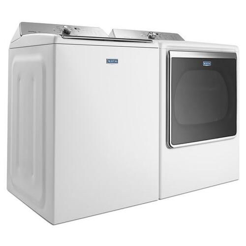 Maytag - Maytag® 8.8 cu. ft. Extra-Large Capacity Dryer with Steam Refresh Cycle - White
