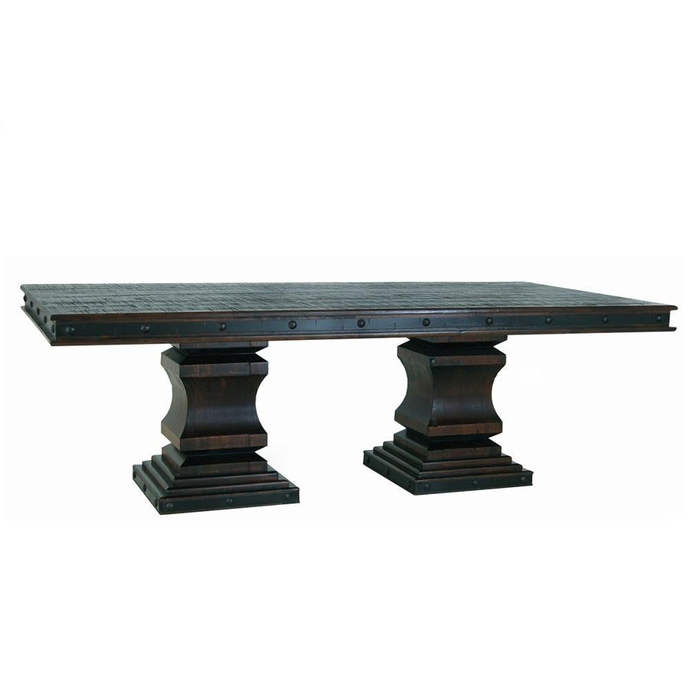 Gran Hacienda Double Pedestal Table