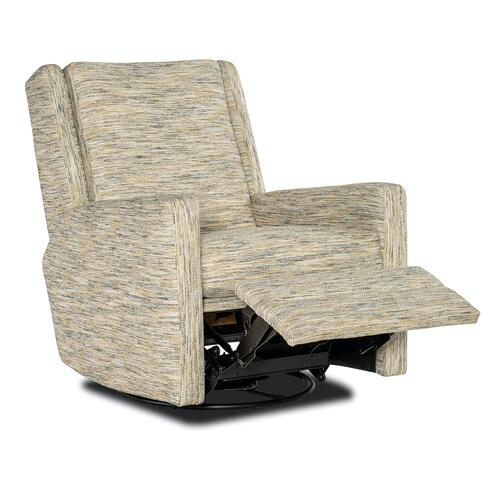 Sam Moore Furniture - Living Room Daxton Swivel Glider Recliner - Manual