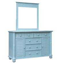 See Details - Dresser and Mirror - 0156 Finish