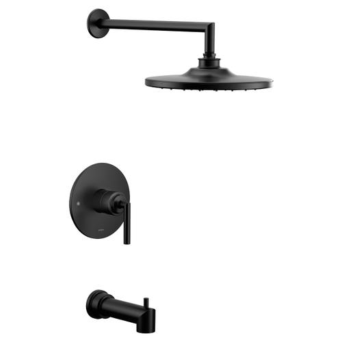 Arris matte black m-core 3-series tub/shower