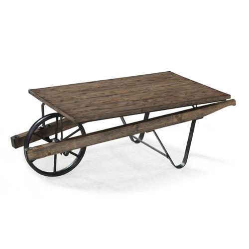 Wheelbarrow Cocktail Table
