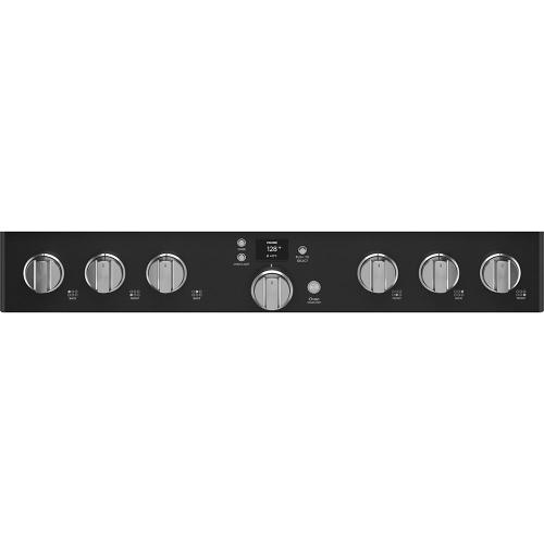 """Cafe Canada - Café 36"""" Smart Dual-Fuel Commercial-Style Range Matte Black"""