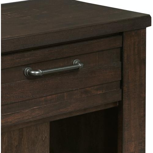 Samuel Lawrence Furniture - Ruff Hewn Nightstand