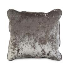 Solid Toss Pillow in Grey