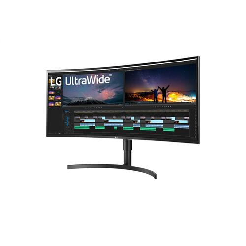LG - 38'' 21:9 Curved WQHD+ IPS HDR10 Monitor