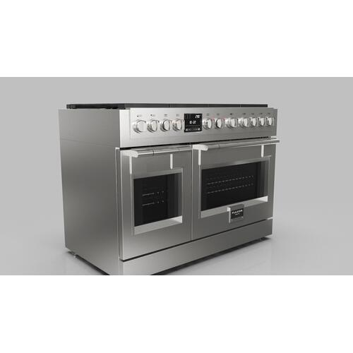 "48"" Dual Fuel Pro Range - Stainless Steel"