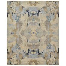 "LEANDRA 6478F IN IVORY/BLUE 5'-6"" x 8'-6"""
