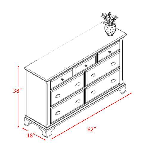 Canton Cherry Dresser Cherry
