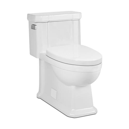 White OCTAVE II One-Piece Toilet
