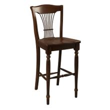 Model 90 Bar Stool Wood Seat